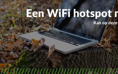 wifi hotspot maken